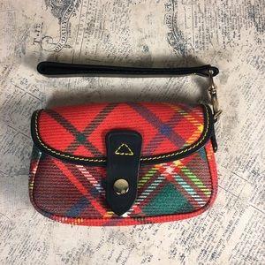 Dooney & Bourke Tartan Plaid Wristlet Bag
